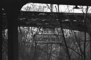 S-Bhf Lichterfelde Ost, ca. 1976, © Joscha Heinkow
