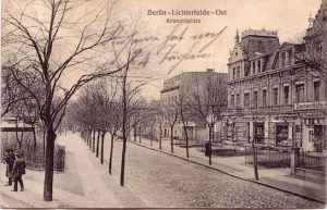 Kranoldplatz ca. 1910, Archiv Wolfgang Holtz