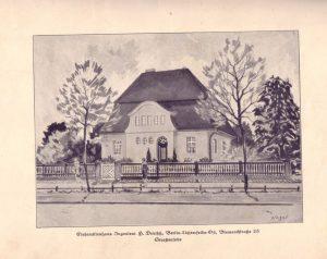 Morgensternstraße 23, aus dem Buch Stadt- und Landhäuser des Architekten Andreas Doll