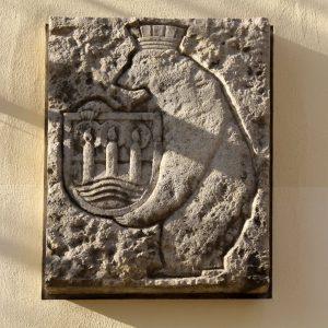 Lichterfelder Wappen an der Seite des ehem. Postamtes (c) Peter Hahn