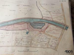 Plan vom Hafen Steglitz, Archiv Wolfgang Holtz