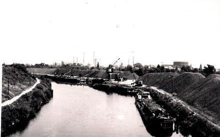 Hafen Lankwitz ca. 1953, Archiv Wolfgang Friese