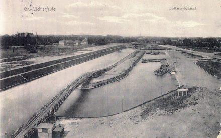 Hafen Lichterfelde mit Treidelbrücke, Archiv Wolfgang Holtz