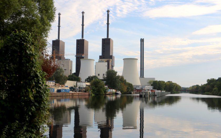 Kraftwerk am Hafen Lichterfelde, ©Jutta Goedicke