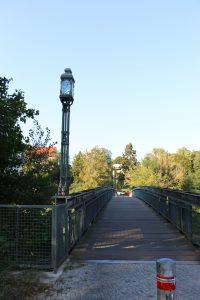 ehemalige Leinpfadbrücke am Edenkobener Weg, ©Jutta Goedicke