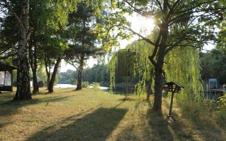 Landzunge am Hafen Steglitz