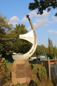 Gedenkstein für Dieter König