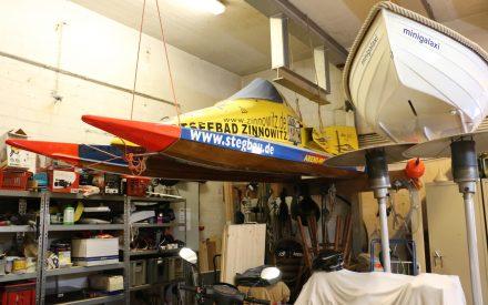 Motorbootschuppen des Motor-Rennbootclub-Berlin e. V.