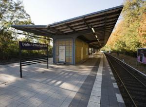 Bahnsteig Lichterfelde Ost