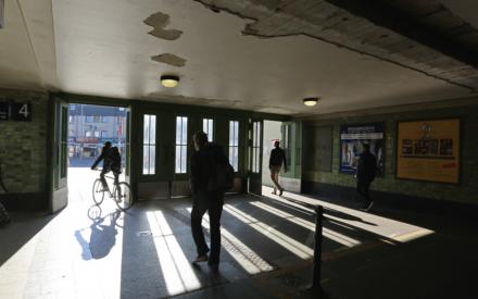 Durchgang Bahnhof Lichterfelde Ost
