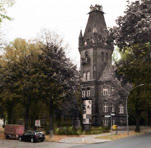Kollage mit ehemaligem Rathaus Lichterfelde