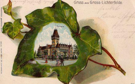 Rathaus Lichterfelde Schmuckkarte