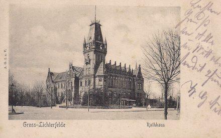 Rathaus Lichterfelde ca. 1904