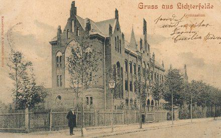 Schillergymnasium ca. 1891
