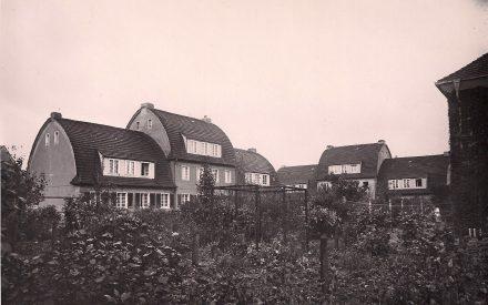 Siedlung Lankwitz, Reihenäuser an den enden der Sackgassen Dessauer und Zietenstraße