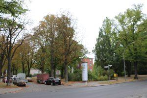 ehemaliger Standort des Rathauses Lichterfelde