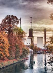 Postkarte Kraftwerk Lichterfelde ©Philipp Bernstorf