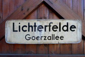 Berlin-Lichterfelde-Bahnhof Schönow-Goerzbahn ©Peter Hahn