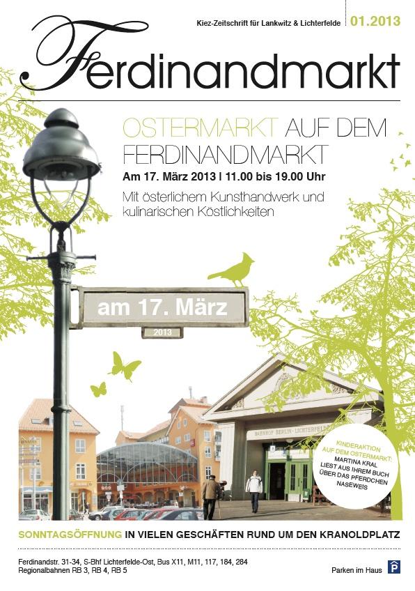 Kiezmagazin Ferdinandmarkt 01|2013