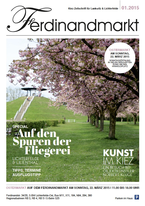 Kiezmagazin Ferdinandmarkt 01|2015