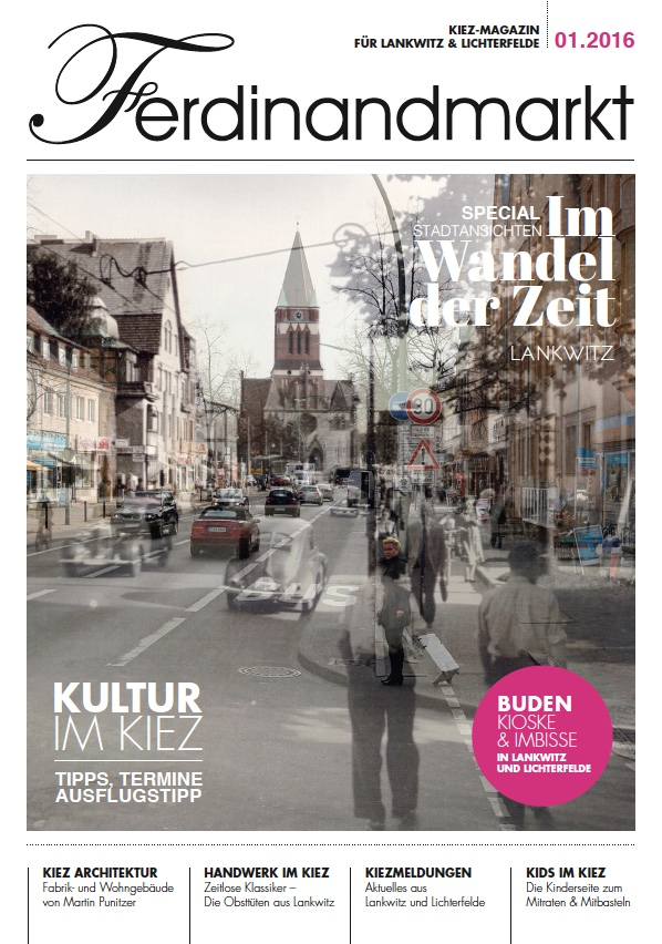 Kiezmagazin Ferdinandmarkt 01|2016
