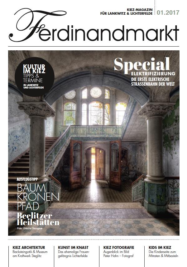 Kiezmagazin Ferdinandmarkt 01|2017
