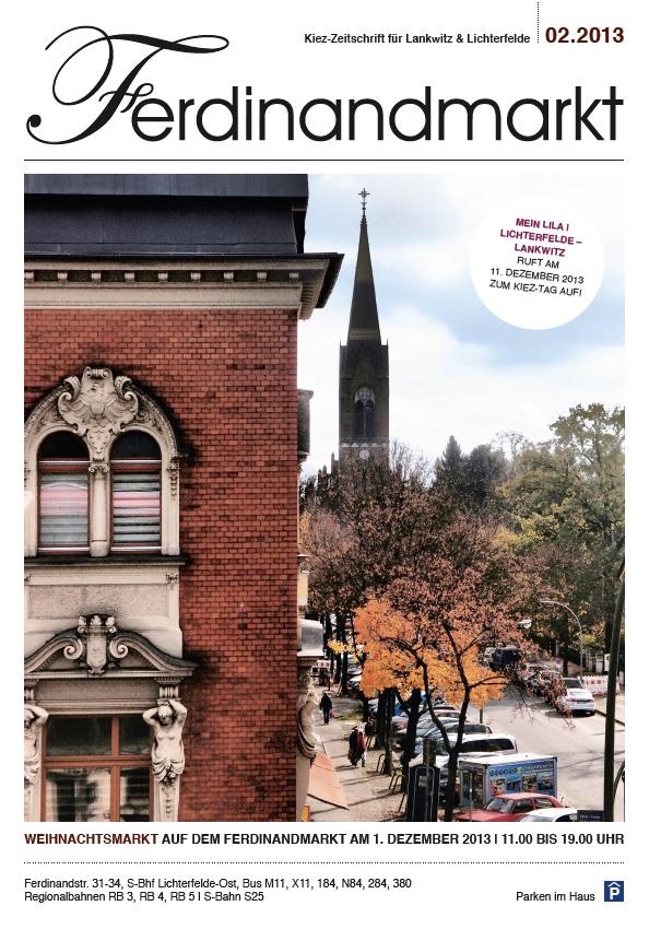 Kiezmagazin Ferdinandmarkt 02|2013