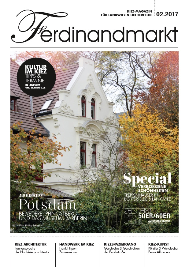 Kiezmagazin Ferdinandmarkt 02|2017