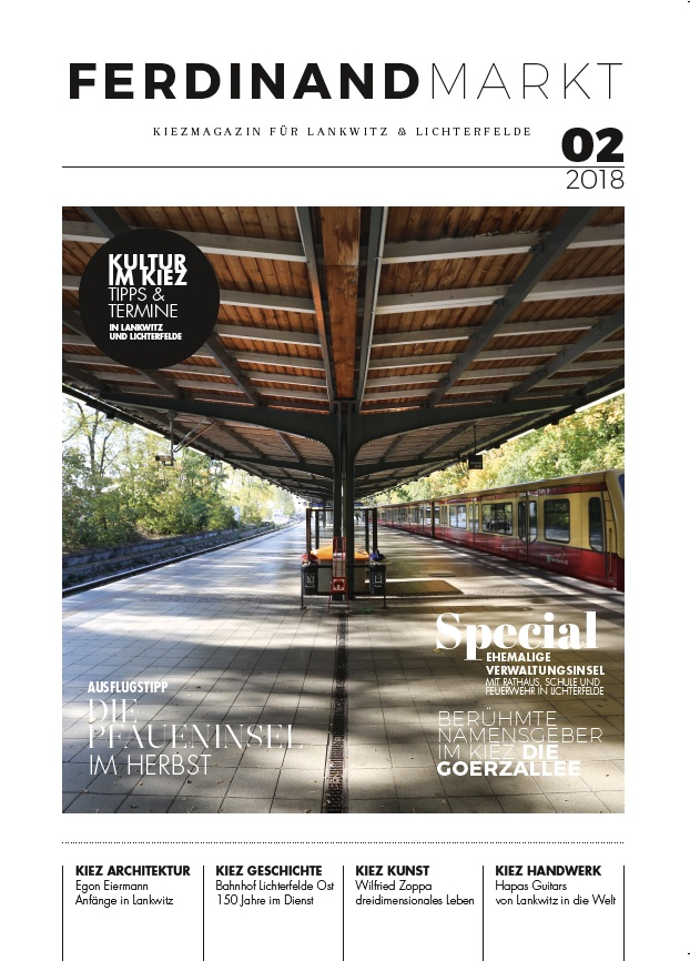 Kiezmagazin Ferdinandmarkt 02|2018