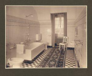 Siemens_Corrensvilla Bild Badezimmer