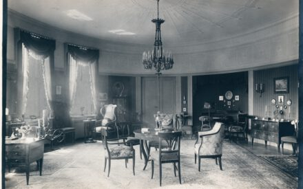 Siemens_Corrensvilla Bild Salon im Wohngeschoss