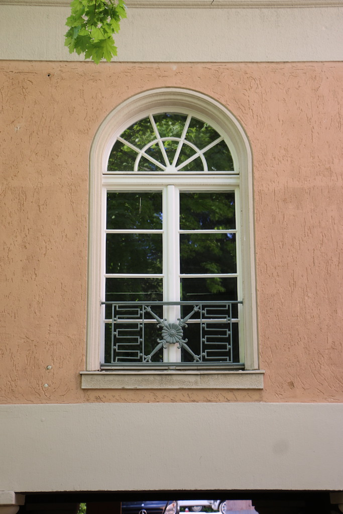 Siemensvilla_Corrensvilla Parkseite Fenster