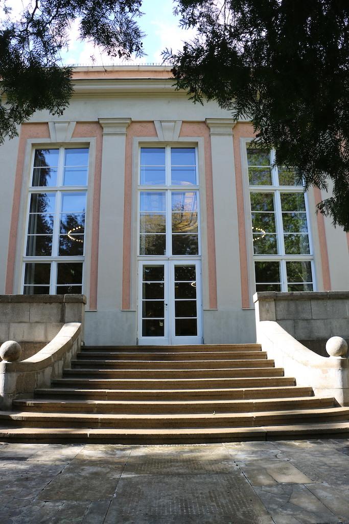 Siemensvilla_Corrensvilla Parkseite Musiksaal