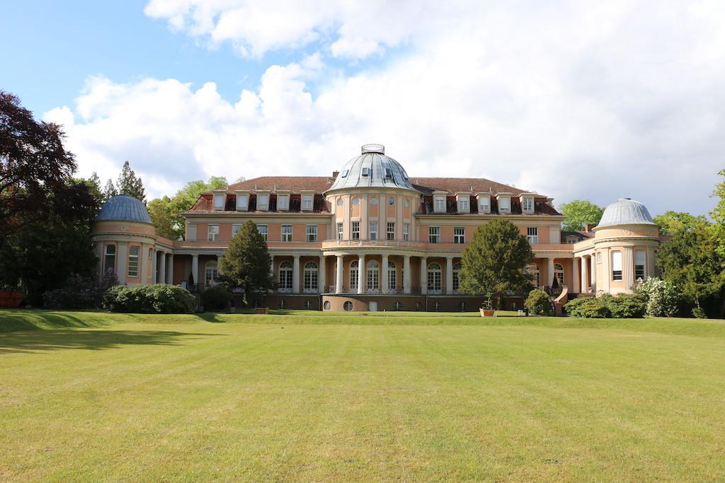 Siemensvilla_Corrensvilla Rückseite mit Park
